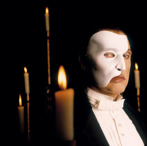 Michael Crawford as The Phantom of the Opera